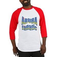 Flag of Aruba sports Baseball Jersey