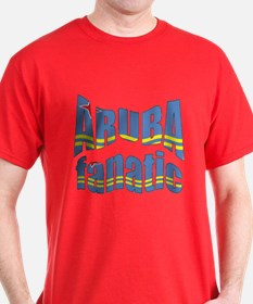Flag of Aruba sports T-Shirt