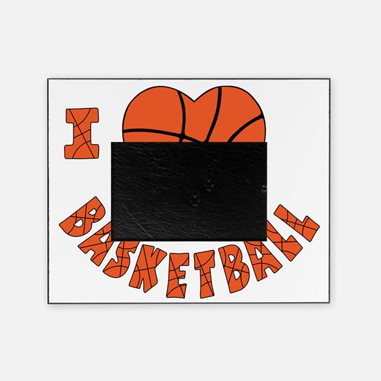 wh  orange, Love Basketball Picture Frame