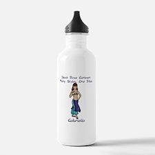 gabi_10x10_apparel Water Bottle