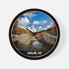 ASHEVILLE_v2_DeJidas_1146_16x20 Wall Clock