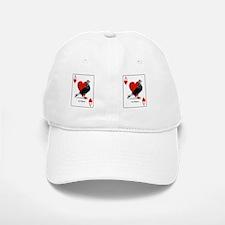 Ace Of Hearts Racing Pigeon Baseball Baseball Cap