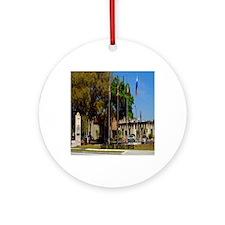 Sahib Shrine5.5x8.5 Round Ornament