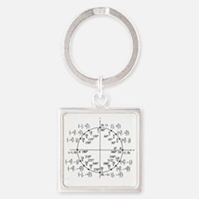 unitcircle Square Keychain