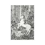 Splash! Unicorn Rectangle Magnet (10 pack)