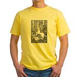 Splash! Unicorn Yellow T-Shirt
