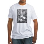 Splash! Unicorn Fitted T-Shirt