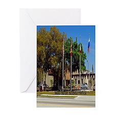 Sahib Shrine7.355x9.45 Greeting Card