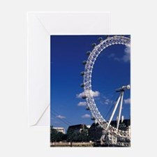 EUROPE, England, London London Eye F Greeting Card