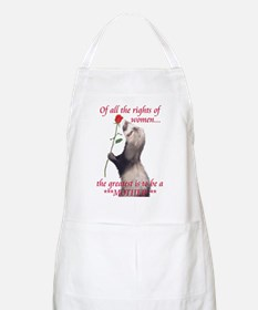The Greatest is...MOTHER BBQ Apron