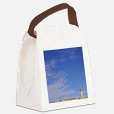 The Cathedral of Saint Lovro in T Canvas Lunch Bag