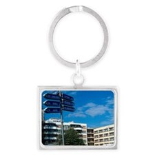 Republika Srpska. - May not be  Landscape Keychain