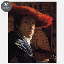 Girl with the Red Hat Puzzle