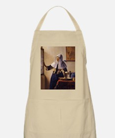 Young Woman with a Water Pitcher Apron