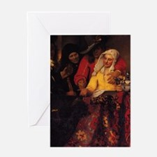The Procuress Greeting Card