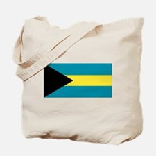 The Bahamas flag Tote Bag