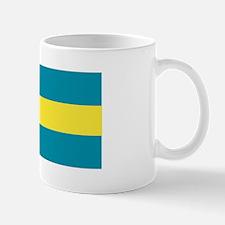 The Bahamas flag Mug
