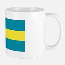 The Bahamas flag Small Small Mug