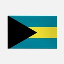 The Bahamas flag Rectangle Magnet