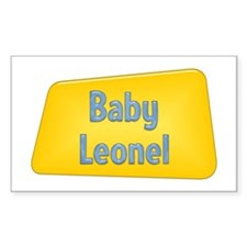 Baby Leonel Rectangle Decal