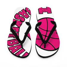 melon sideways, Love Basketball Flip Flops