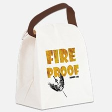 fire-proof1 Canvas Lunch Bag