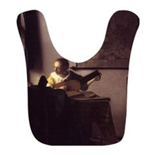 Woman with a Lute Bib