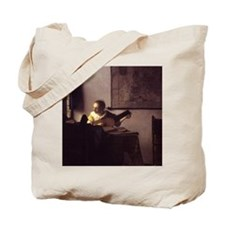 Woman with a Lute Tote Bag