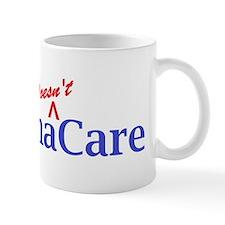 Obama Doesnt Care Mugs