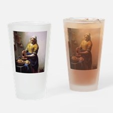 The Milkmaid Drinking Glass