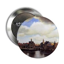 "View of Delft 2.25"" Button"