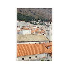 Croatia, Dubrovnik. Franciscan Mo Rectangle Magnet