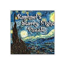 "Raphaels Square Sticker 3"" x 3"""