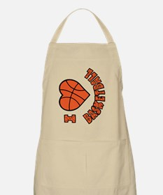 orang  bk sideways, Love Basketball Apron