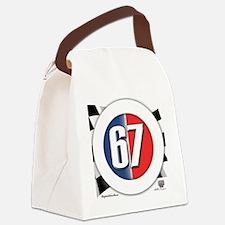 roundlogo67 Canvas Lunch Bag