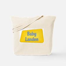 Baby Landen Tote Bag
