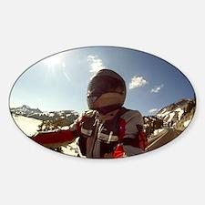 2-Winter-Eric Gus GOPR0311 Sticker (Oval)