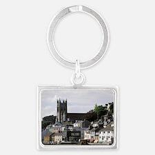 Europe, England, Devon, Brixham Landscape Keychain