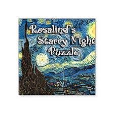"Rosalinds Square Sticker 3"" x 3"""