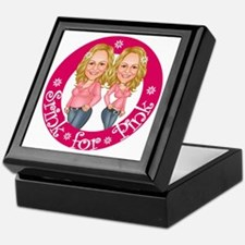 shrinkforpinklogooriginalsize Keepsake Box