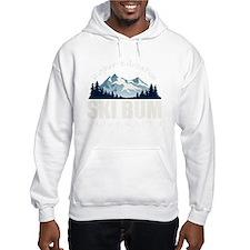 ski bum drk Hoodie