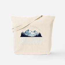 ski bum drk Tote Bag