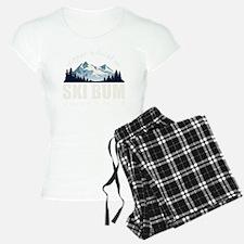 ski bum drk Pajamas