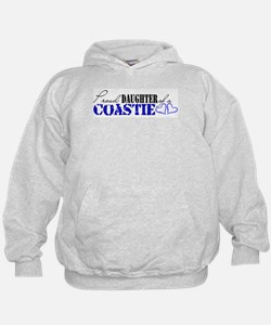 Proud Daughter of a Coastie Hoodie