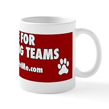 I BRAKE FOR SERVICE DOG TEAMS (red) Mug