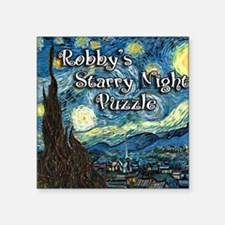 "Robbys Square Sticker 3"" x 3"""