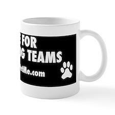 I BRAKE FOR SERVICE DOG TEAMS (black) Mug