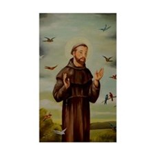 St.Francis-lg Decal