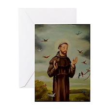 St.Francis-lg Greeting Card