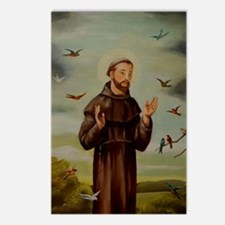 St.Francis-lg Postcards (Package of 8)